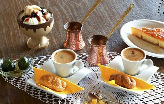 Καφές και Γλύκό στο Κτήμα