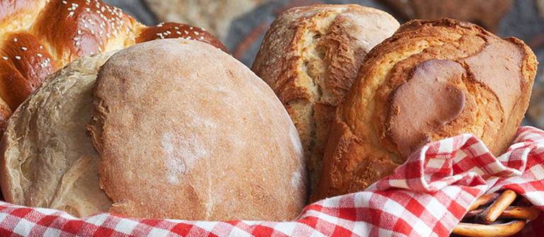 Bread with natural leaven